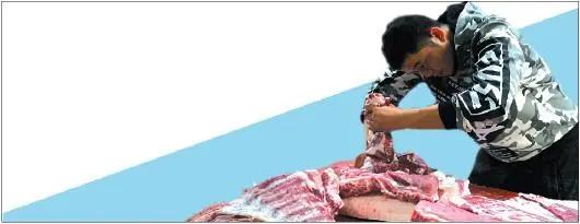"""""""985""""高校毕业的廖立峰辞去公务员卖猪肉,他会成为第二个陆步轩吗?"""